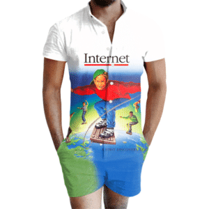 Welcome to the Internet Romper