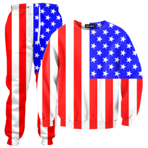 American Flag Tracksuit