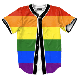 Gay Pride Rainbow Jersey
