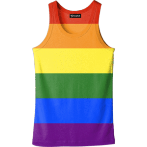 Gay Pride Rainbow Tank