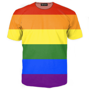 Gay Pride Rainbow Tee