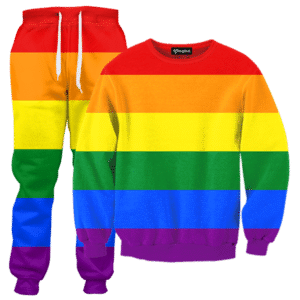 Gay Pride Rainbow Tracksuit