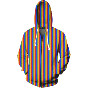 Gay Pride Zip Up