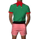 Elf Ugly Christmas Romper Back