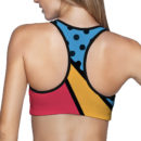90s Feel Sports Bra – Back 2