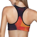 Abstract Glow Sports Bra – Back 2