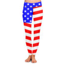 American Flag Yoga Pants – Front