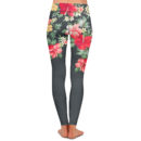Athletic Floral Yoga Pants – Back