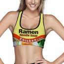 Chicken Ramen Sports Bra