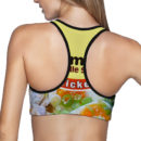 Chicken Ramen Sports Bra – Back 2