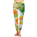 Chicken Ramen Yoga Pants – Front