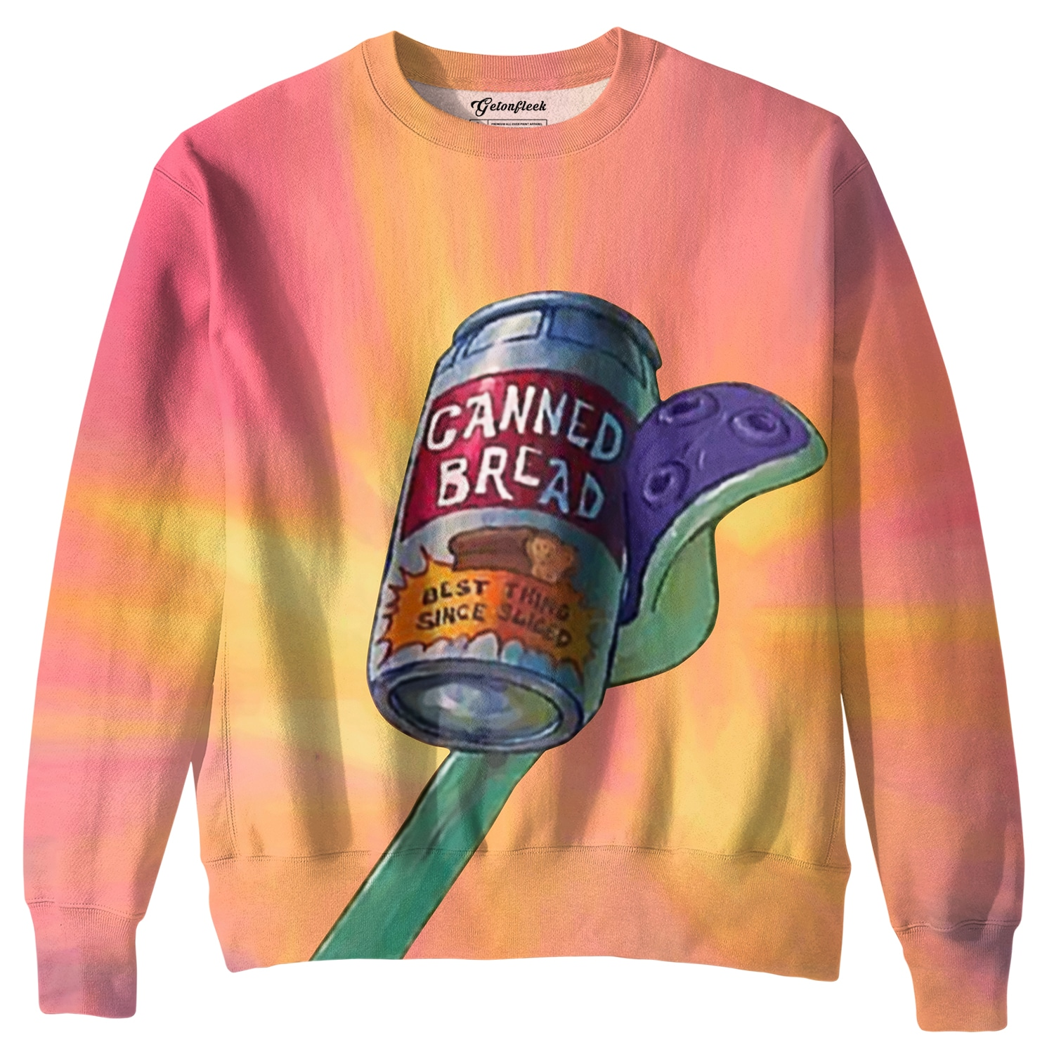 904b2b5e Canned Bread Crewneck - All Over Print Apparel - Getonfleek