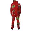 Classic Ugly Christmas Onesie BACK