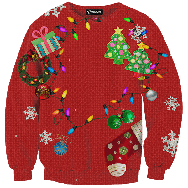 Christmas Jerseys.Classic Ugly Christmas Sweater