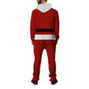 Santa Ugly Christmas Onesie BACK